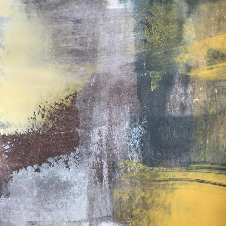 darkness of lightness I, acrylic, 140 x 140mm