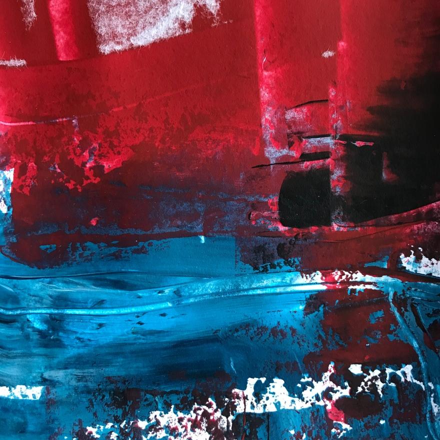 Formation, acrylic, 140 x 140mm