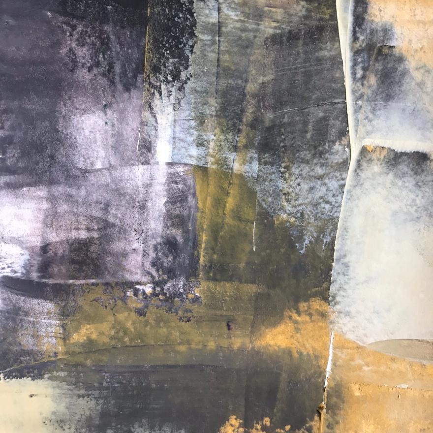 darkness of lightness III,  acrylic, 140 x 140mm
